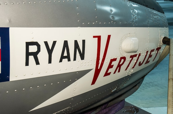 DAYTON, Ohio -- Ryan X-13 Vertijet in the Research & Development Gallery at the National Museum of the U.S. Air Force. This photo was taken during preparations for the fourth building, Feb. 2016. (U.S. Air Force photo by Ken LaRock)