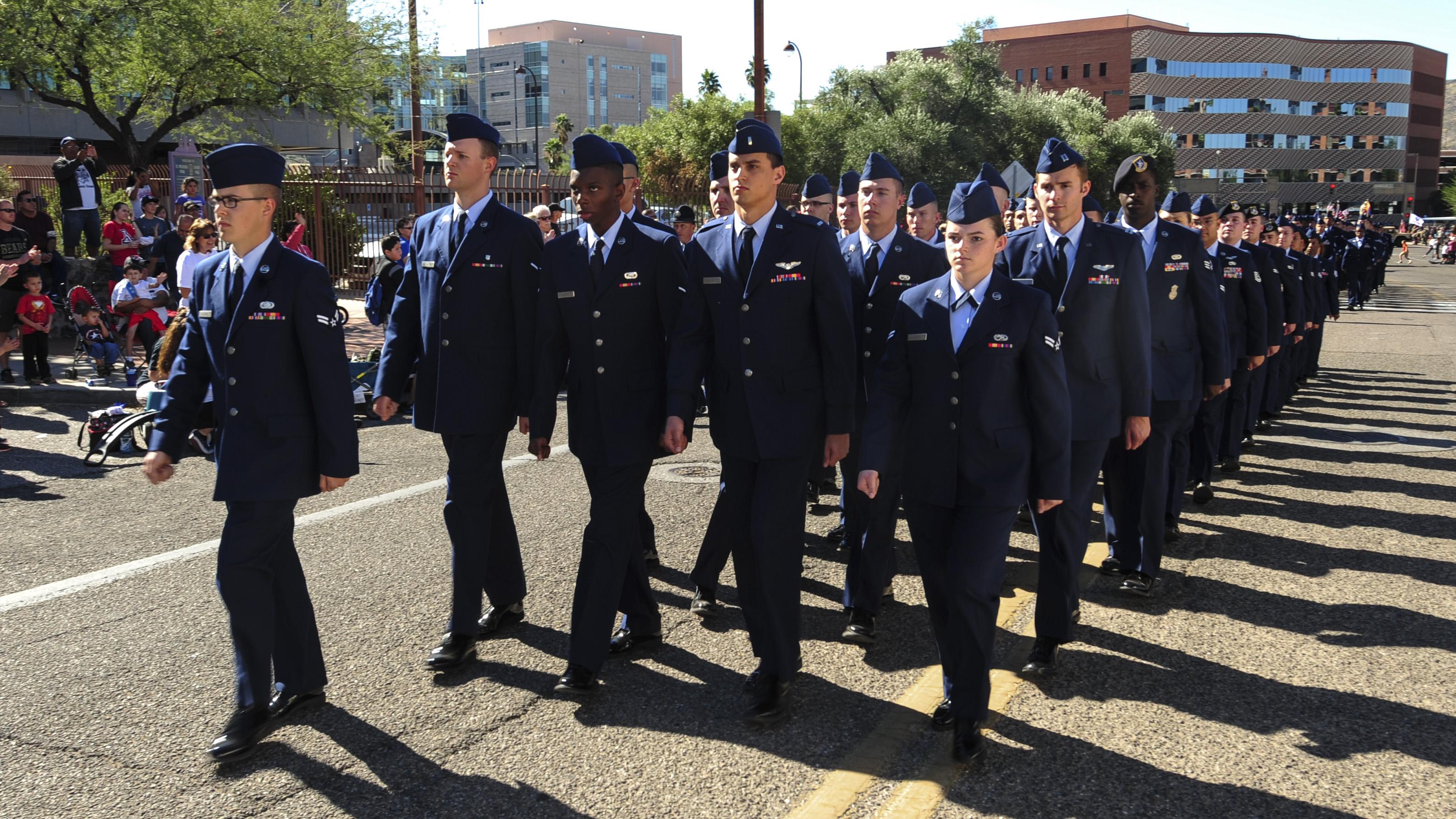 Tucson Veterans Day Parade 2016