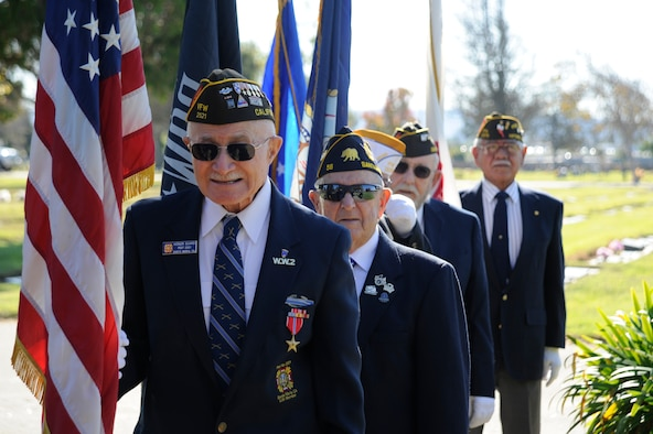 The City of Santa Maria celebrates Veterans Day, Nov. 11, 2015, Santa Maria, Calif. We celebrate Veterans Day to recognize military members, past and present, who have served their country. (U.S. Air Force photo by Senior Airman Ian Dudley/Released)