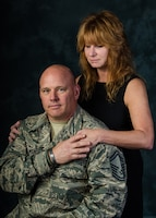 Retired 131st Bomb Wing Senior Master Sgt. Bob Weber credits his wife, Thomasine Weber, for providing social resiliency support to help him recover from injuries and following the loss of a fellow Missouri Guard member to an improvised explosive device during a deployment to Afghanistan.