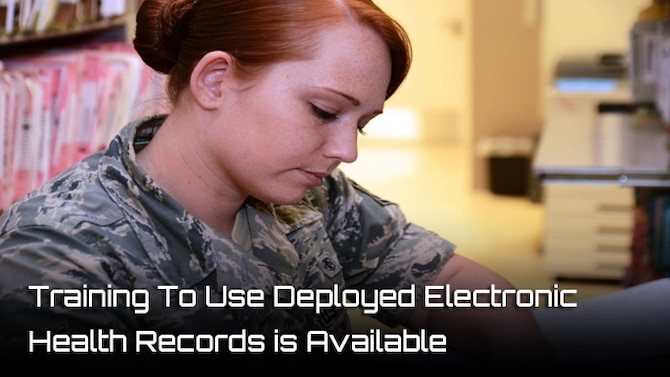 Electronic health records to enable medical Airmen to treat those who are wounded while deployed in a harsh or isolated environment.