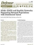 STAR–TIDES and Starfish Networks: Supporting Stressed Populations with Distributed Talent