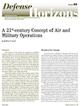 A 21st-century Concept of Air and Military Operations