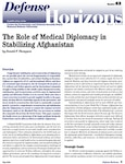 The Role of Medical Diplomacy in Stabilizing Afghanistan