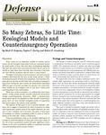 So Many Zebras, So Little Time: Ecological Models and Counterinsurgency Operations