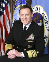 Navy Adm. Mike S. Rogers, commander of U.S. Cyber Command and director of the National Security Agency. NSA photo