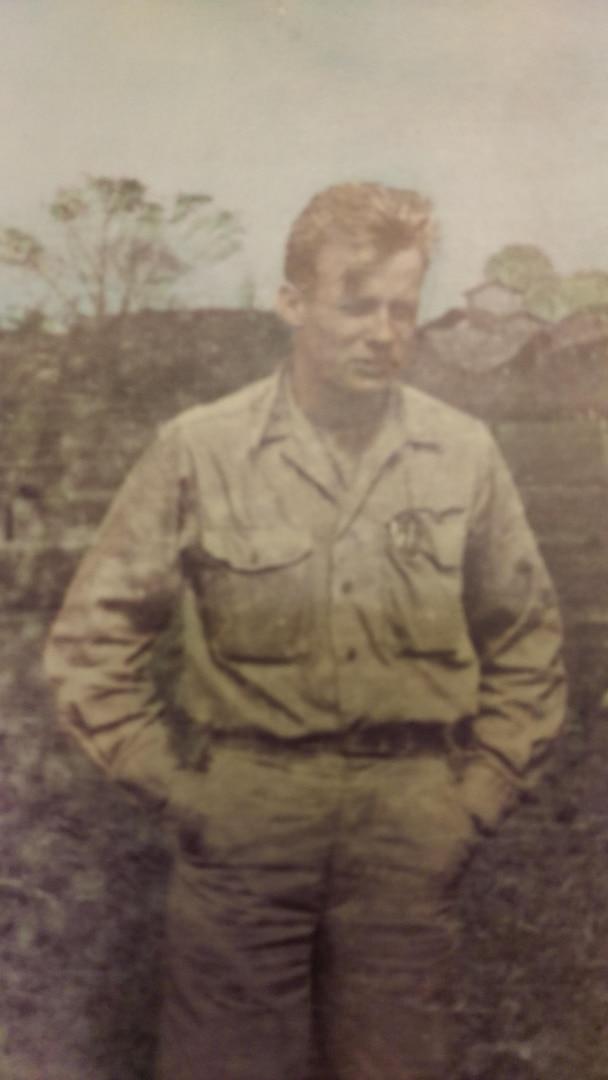 1st Lt. Frederick W. Langhorst