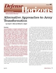 Alternative Approaches to Army Transformation