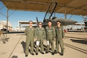 Two students and two instructor pilots from the Republic of South Korea Air Force visted the United States Air Force Test Pilot School Oct. 30-Nov. 4. (U.S. Air Force photo by Joseph Gocong)