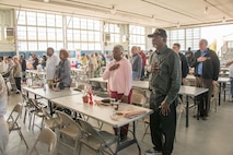 Maxwell hosted a Military Retiree Appreciation Day on base, Nov. 18, 2016. The annual and highly anticipated Military Retiree Appreciation Day brings nearly 1,000 veterans from around the state and the Southeast each year. Over 50 vendors and multiple healthcare providers created a one stop shop for retired military from the River Region for all of their needs.  (US Air Force photo by Trey Ward)