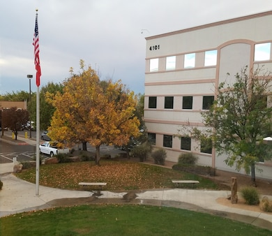 ALBUQUERQUE, N.M. – A tree in front of the District's office shows off its fall foliage, Nov. 1, 2016. Photo by Chris Velasquez. This was a 2016 Photo Drive entry.
