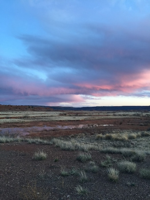 CONCHAS DAM, N.M. – District employee Toni Brown got this photo of the clouds as she left work, March 25, 2016. This was a 2016 Photo Drive entry.
