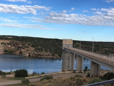 SANTA ROSA DAM, N.M. – Early morning at the dam's control tower, July 2, 2016. Photo by Rowena Sanchez. This was a 2016 Photo Drive entry.