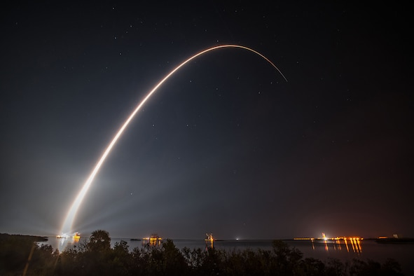 The 45th Space Wing supported NASA's successful launch of the Geostationary Operational Environmental Satellite-R spacecraft aboard a United Launch Alliance Atlas V rocket from Space Launch Complex 41 here Nov. 19 at 6:42 p.m. ET. (Courtesy photo by ULA)