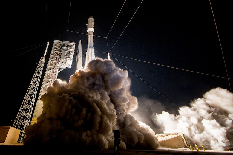 The 45th Space Wing supported NASA's successful launch of the Geostationary Operational Environmental Satellite-R spacecraft aboard a United Launch Alliance Atlas V rocket from Space Launch Complex 41 here Nov. 19 at 6:42 p.m. ET. (Courtesy by ULA)