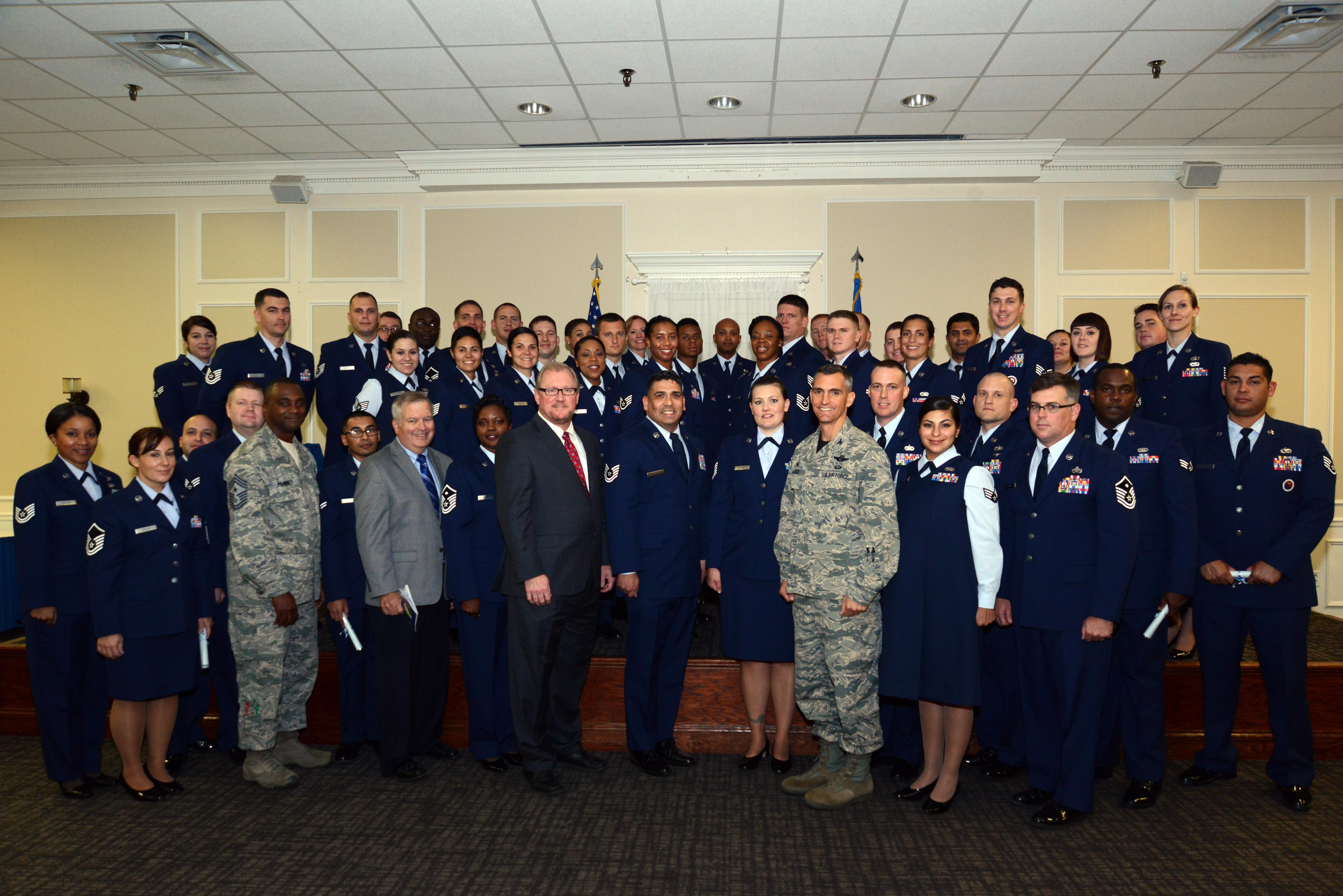 833rd aero squadron - Airmen Achieve Educational Milestone