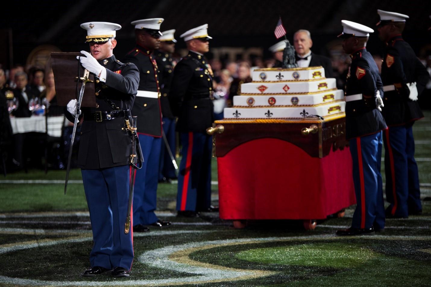Marine Forces Reserve birthday ball