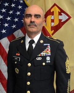Command Sergeant Major (CSM) Carlos O. Lopes
