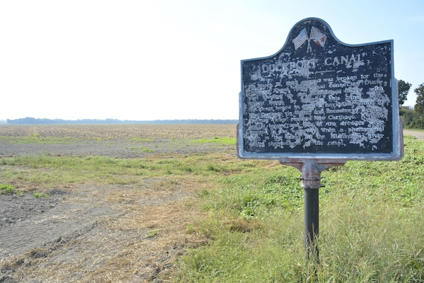 Little remains of the Duckport Canal's path. A highway historical marker in Madison Parish, Louisiana, marks the site where the canal debouched into Walnut Bayou.