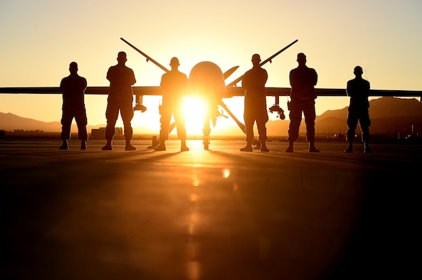 The Air Force recently approved two initiatives for the remotely piloted aircraft career field. Eight RPA reconnaissance squadrons will be redesignated as attack squadrons, and the Air Force has also authorized RPA aircrews to log combat time when flying an aircraft within designated hostile airspace, regardless of the aircrew's physical location. (U.S. Air Force photo/Tech. Sgt. Nadine Barclay)