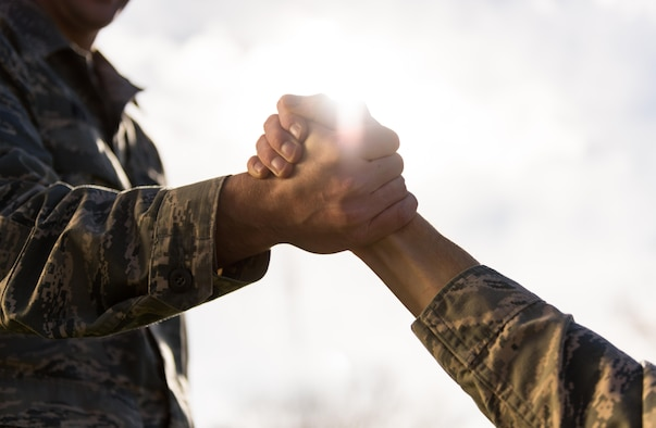 In 2015, 275 military members took their own lives. A helping hand from a friend can make a huge difference in someones life. (U.S. Air Force photo by Senior Airman Connor J. Marth)