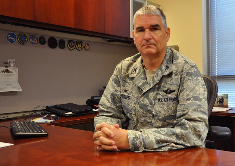 Col. Jim Phillips, 919th Special Operations Wing commander
