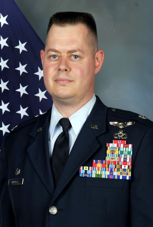 Lt. Col. Andrew DeRosa, 50th Civil Engineer Squadron commander