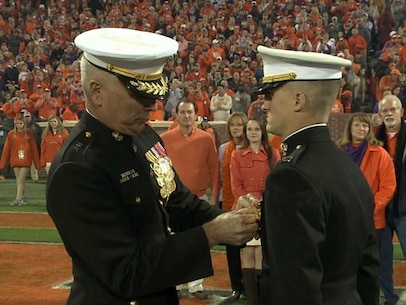 Captain Trey Kennedy received the Navy and Marine Corps Medal for Heroism. (Courtesy Photo)