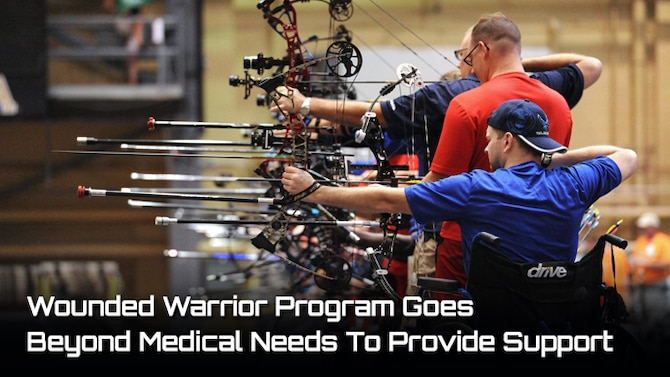 Wounded Warror Program Goes Beyond Medical Needs to Provide Support