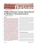 XVIII Airborne Corps: Spearhead of Military Transformation