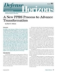 A New PPBS Process to Advance Transformation