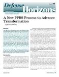 A New PPBS Process to Advance Transformation