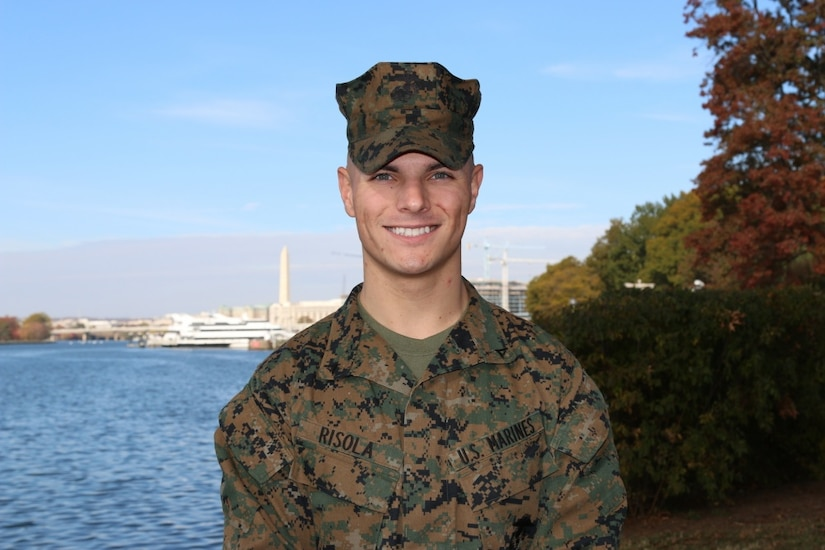 marine corps lance cpl michael risola a tarpon springs fla native
