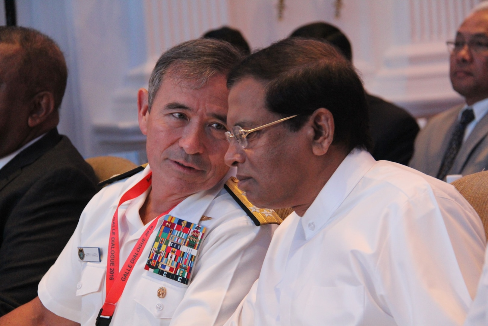 Commander of U.S. Pacific Command, Admiral Harry Harris met with President Maithripala Sirisena and affirmed U.S. Commitment to enhance bilateral cooperation with Sri Lanka.  He visited Sri Lanka, November 27-29, to attend the Galle Dialogue 2016 maritime security conference.