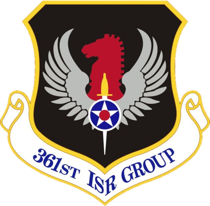 Emblem of the 361st Intelligence, Surveillance and Reconnaissance Group
