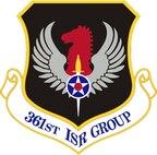 Emblem of the 361st Intelligence, Surveillance and Reconnaissance Group