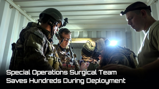 U.S. Air Force Special Operations Surgical Teams practiced integration operations with a special operations partner force during a Special Tactics exercise, Hurlburt Field, Fla., Oct. 16, 2015. SOST members are military medical professionals selected to provide battlefield trauma and other surgical support in a special operations mission set. SOST members often forward deploy to austere or hostile areas to perform life-saving trauma surgery for special operators with little to no facility support. (U.S. Air Force photo/Released)