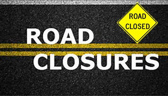 Eglin Road Closures
