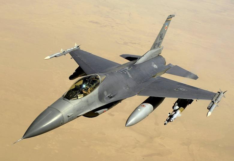The F-16A Fighting Falcon. (Courtesy photo)