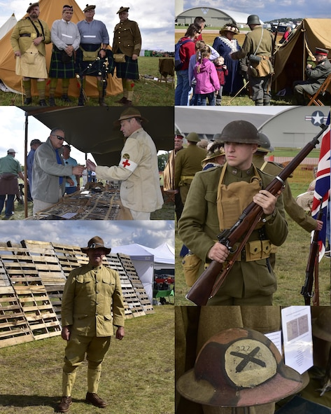 DAYTON, Ohio -- World War I reenactors participated in the Tenth WWI Dawn Patrol Rendezvous on Oct. 1-2, 2016, at the National Museum of the U.S. Air Force. (U.S. Air Force photo by Ken LaRock)