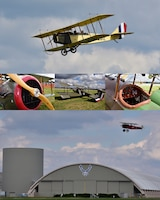 DAYTON, Ohio -- World War I aircraft took to the skies during the Tenth WWI Dawn Patrol Rendezvous on Oct. 1-2, 2016, at the National Museum of the U.S. Air Force. (U.S. Air Force photo by Ken LaRock)