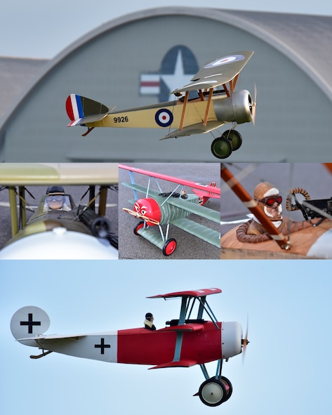 DAYTON, Ohio -- World War I  radio controlled aircraft took to the skies during the Tenth WWI Dawn Patrol Rendezvous on Oct. 1-2, 2016, at the National Museum of the U.S. Air Force. (U.S. Air Force photo by Ken LaRock)