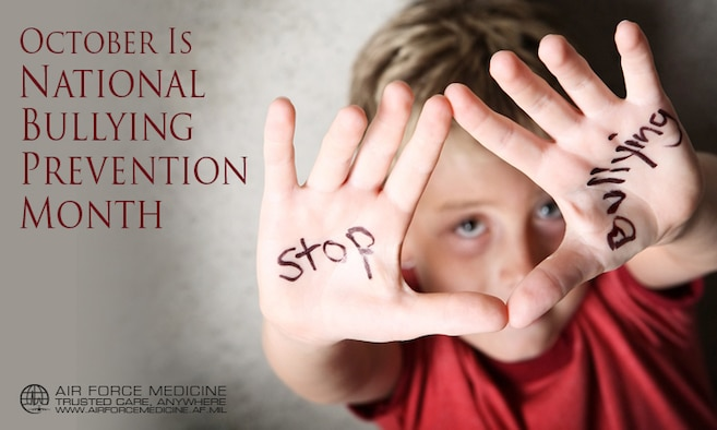 October is National Bullying Prevention Month.