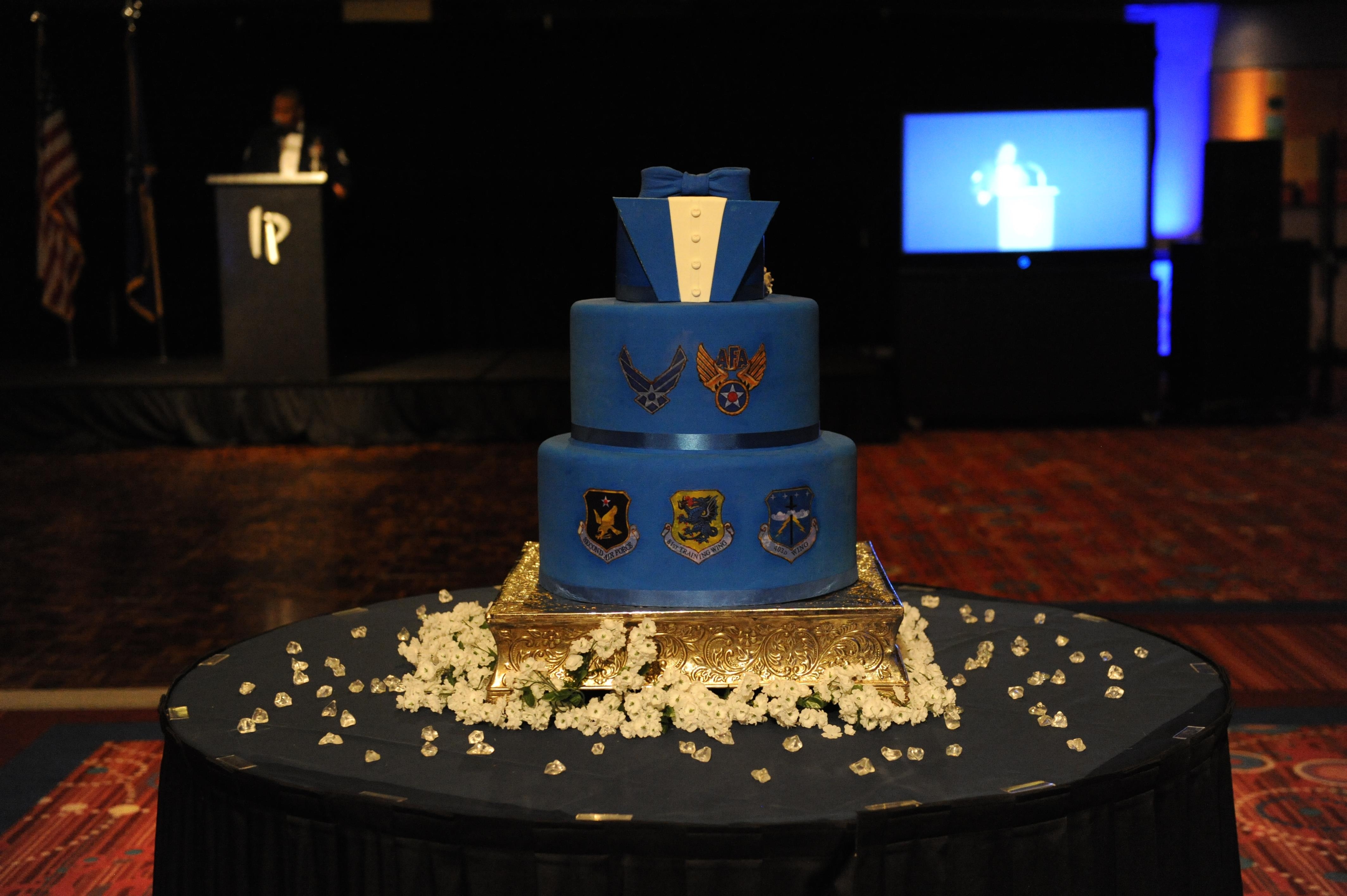 Air Force Birthday Cake