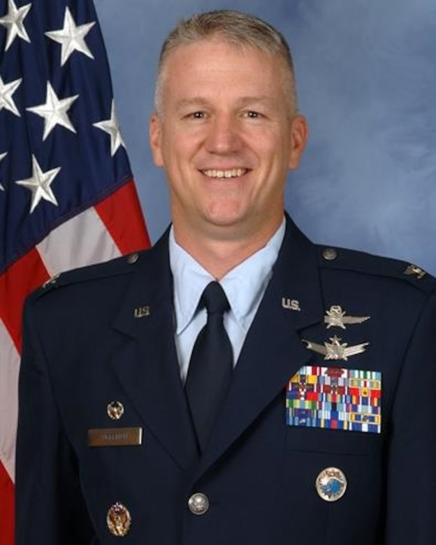 Col. Scott Angerman, 50th Network Operations Group commander