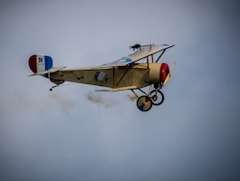 DAYTON, Ohio -- World War I aircraft took to the skies during the during the Tenth WWI Dawn Patrol Rendezvous at the National Museum of the U.S. Air Force on Oct. 1-2, 2016. (U.S. Air Force photo by Mike Lent)