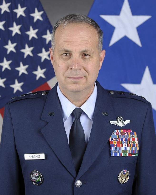 Lieutenant General Jerry P. Martinez, Commander, U.S. Forces Japan, and Commander, 5th Air Force, Pacific Air Forces, Yokota Air Base, Japan, official Photo