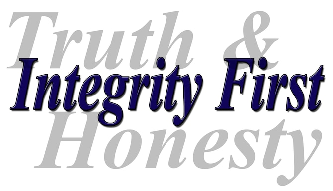 The concept of Truth and Honesty fall directly in line with the Air Force Core Value of Integrity First.  (U.S. Air National Guard Illustration by Master Sgt. Jennifer Shirar)