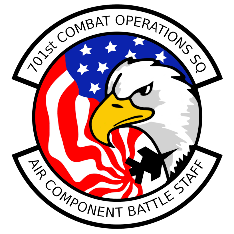 701st Combat Operations Squadron Patch