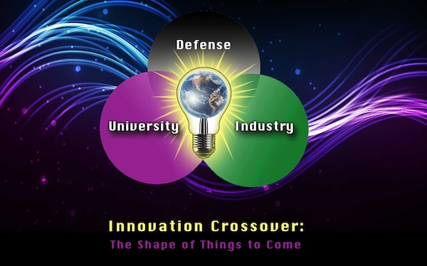 """161006-N-BK152-001 - Crane, Ind. (Oct. 6, 2016) -- Naval Surface Warfare Center, Crane Division (NSWC Crane) will host the inaugural """"Innovation Crossover: The Shape of Things to Come"""" conference on October 12-13 at the Bloomington Convention Center. The event is designed to foster collaboration on mutual technology challenges and regional economic growth."""